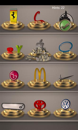 Nigmalab 3d logo quiz